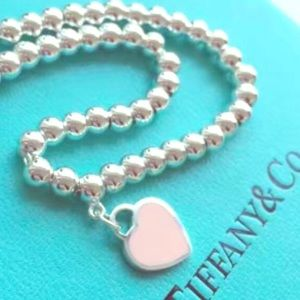 Tiffany & Co. Small tag beaded bracelet new